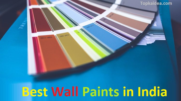 The best wall paints brands available in India