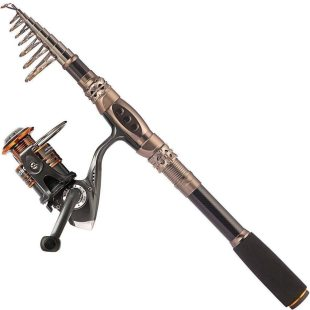 Plusinno Telescopic Fishing Rod And Reel