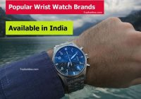 The best wristwatch brands available in India
