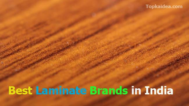 Best laminate brands in India