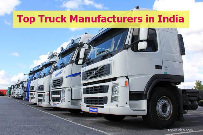 Top Indian Truck Manufacturers