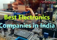 Top Electronics Companies in India