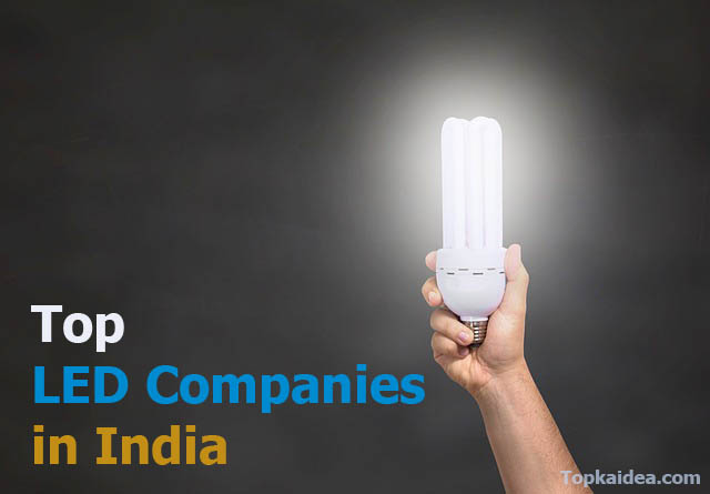 Best LED companies in India