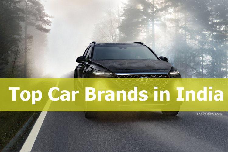 Top Car Brands in India