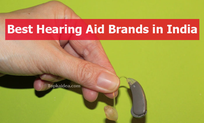 Top Indian hearing aid brands