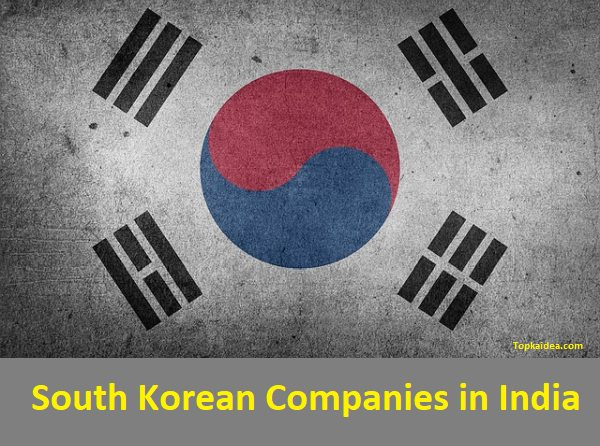 South Korean brands in India